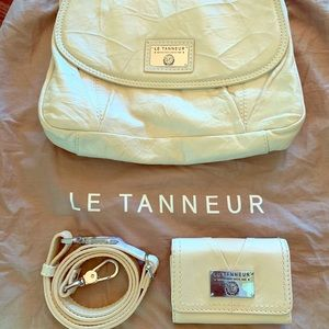 Handbags - Le Tanneur Leather Purse from Paris